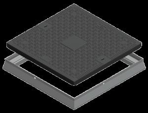 BM6060 composite manhole cover