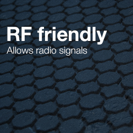 radio friendly composite covers