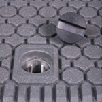 lightweight watertight covers, Glass-Filled-Nylon-Security-Plug 150150